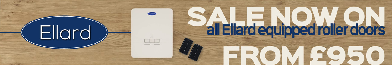sale now on with ellard roller door products